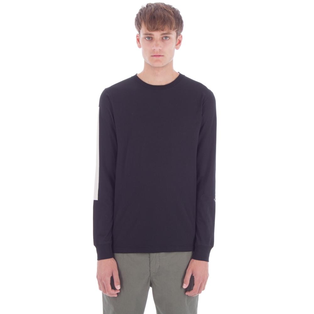 Saturday's Surf NYC Saturdays Bar Long Sleeve T-Shirt (Black)