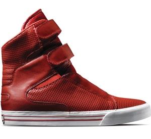 Supra Footwear - Tk Society (Red Perf)