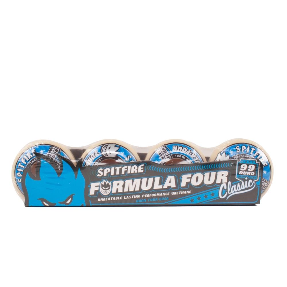 Spitfire Formula Four 99 DU Skateboard Wheels 51mm
