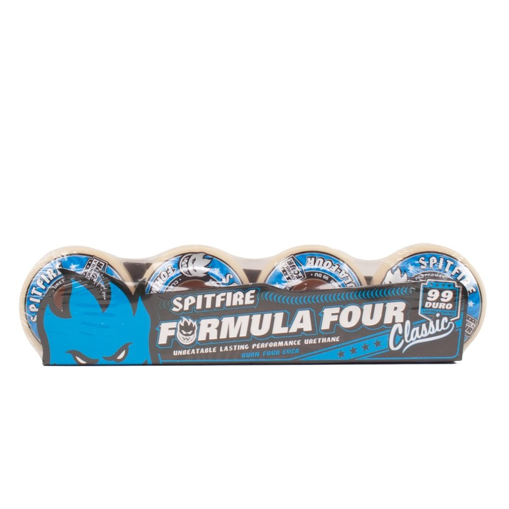 Spitfire Formula Four 99 DU Skateboard Wheels 56mm