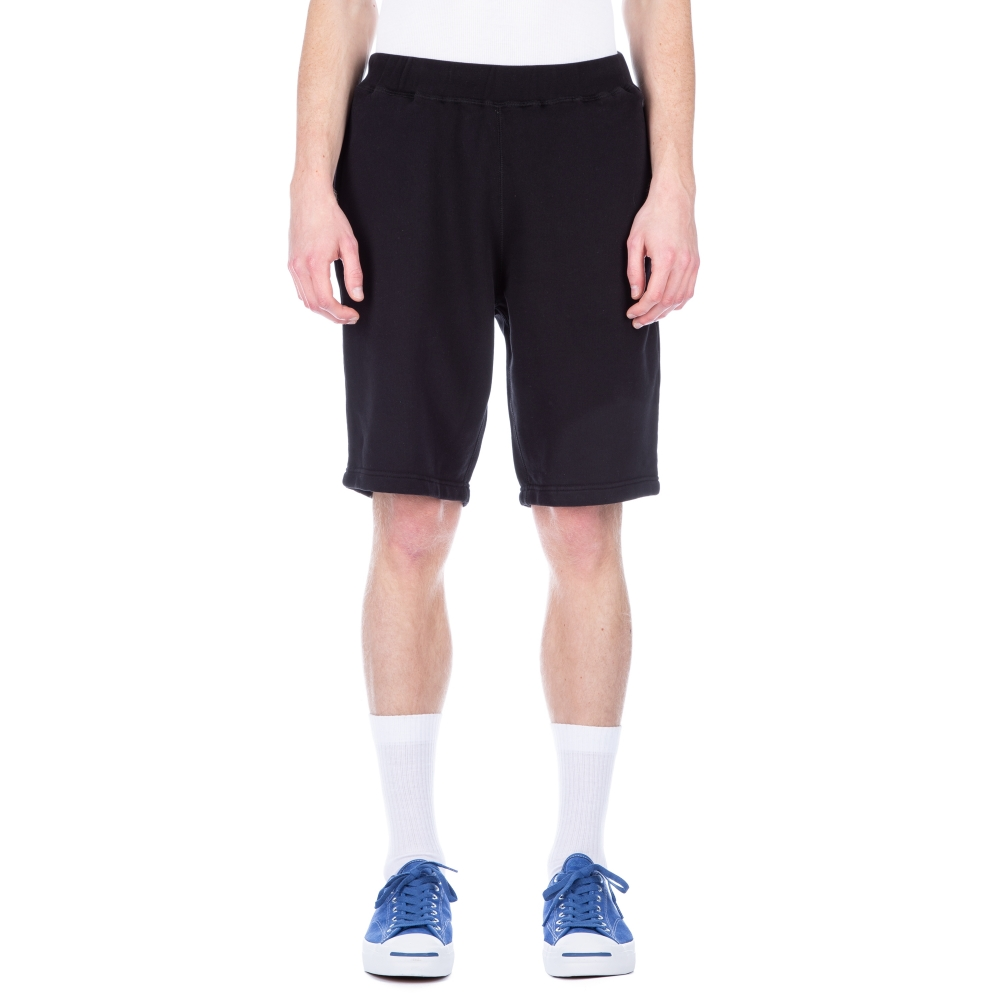 Sunspel Cotton Loopback Short (Black)