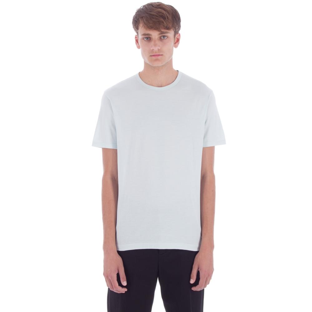 Sunspel Crew Neck T-Shirt (Mineral Blue)