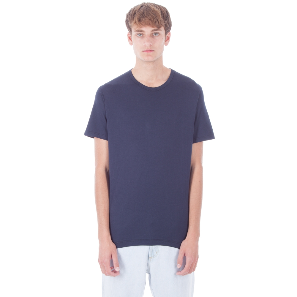 Sunspel Crew Neck T-Shirt (Navy)