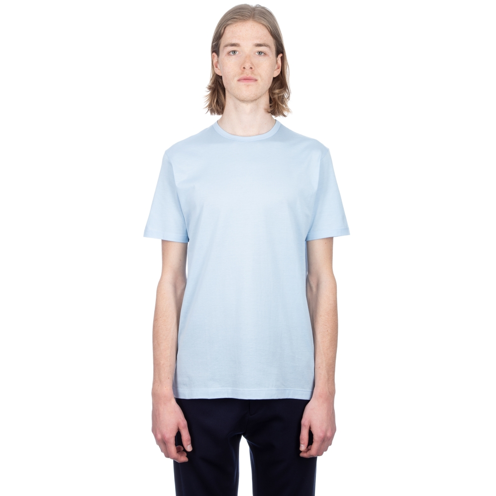 Sunspel Crew Neck T-Shirt (Sky)