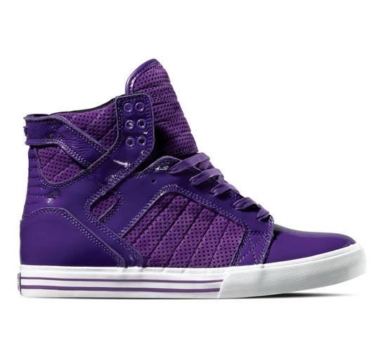 bc788b65b5 Supra Skytop (Purple Suede Patent) by Supra Footwear - buy Supra ...