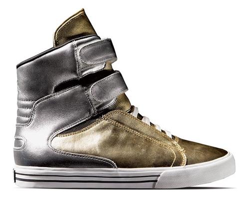 uk availability ae1a9 59d44 Supra Footwear - Tk Society Ltd (Gold   Silver)