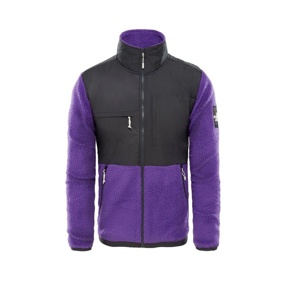 The North Face Denali Fleece (Tillandsia Purple/Asphalt Grey)