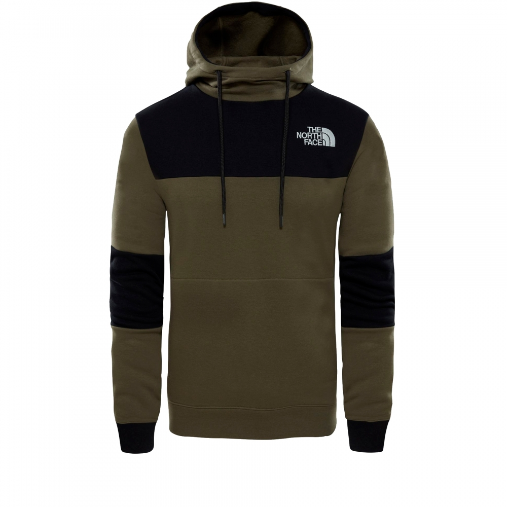 The North Face Himalayan Pullover Hooded Sweatshirt (New Taupe Green)