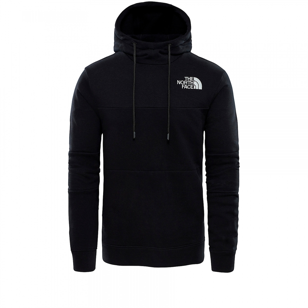 The North Face Himalayan Pullover Hooded Sweatshirt (TNF Black)
