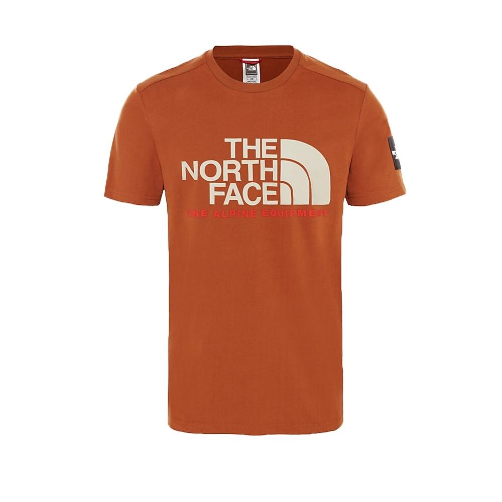 The North Face Fine Alpine T-Shirt (Caramel Café)