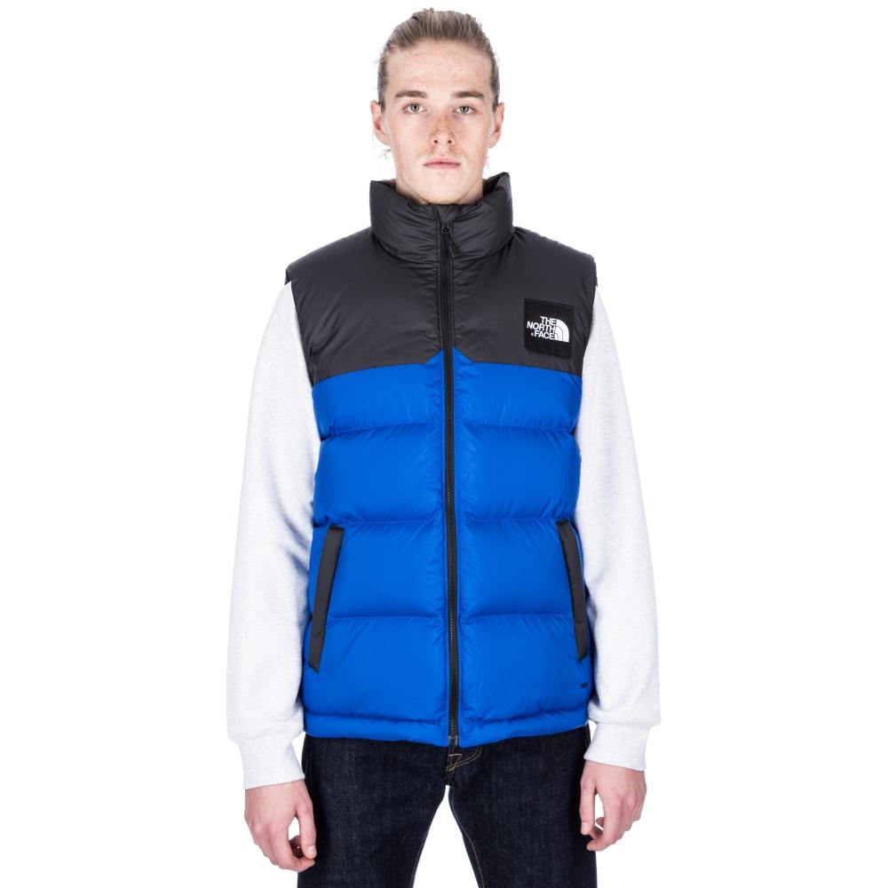 the north face 1992 nuptse vest bright cobalt blue. Black Bedroom Furniture Sets. Home Design Ideas