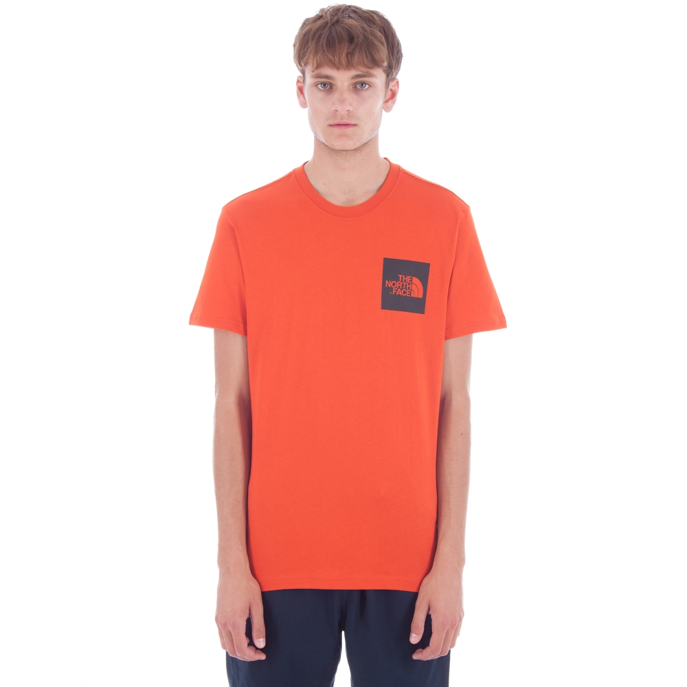 The North Face Fine T-Shirt (Tibetan Orange)