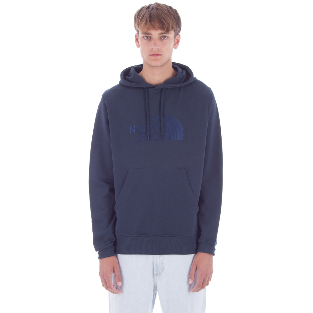 The North Face Light Drew Peak Pullover Hooded Sweatshirt (Urban Navy)