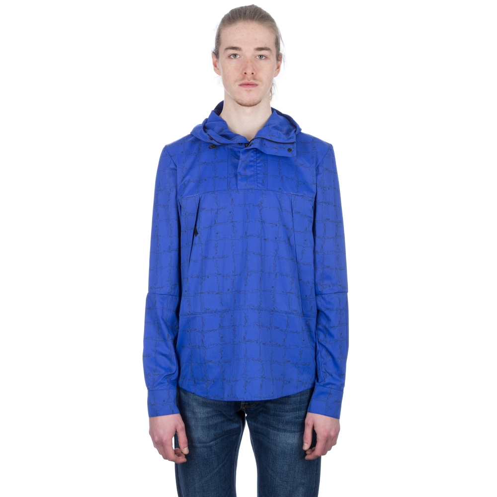 The North Face Red Label Mountain Light 1/4 Shirt Jacket (Vibrant Blue)