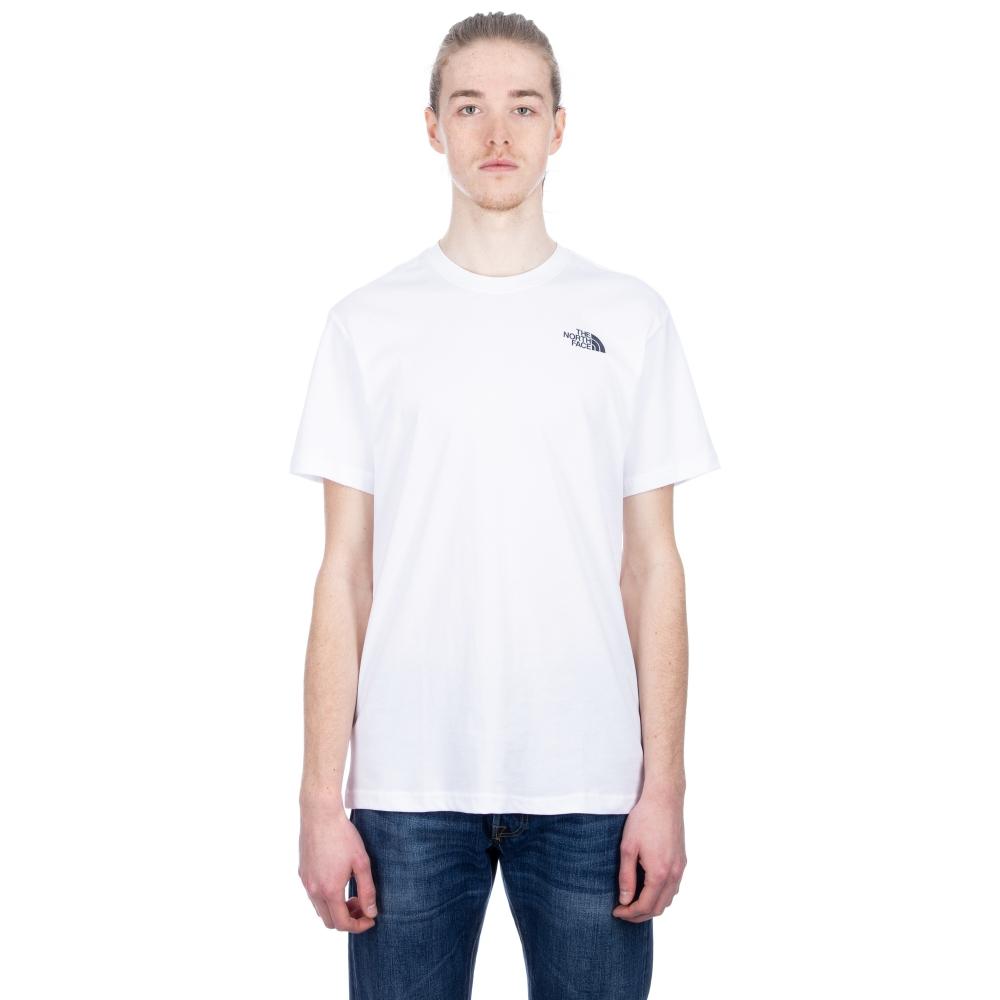 The North Face Redbox Celebration T-Shirt (TNF White/Urban Navy)