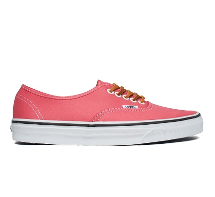 Vans Authentic Bushed Twill (Salmon/True White)