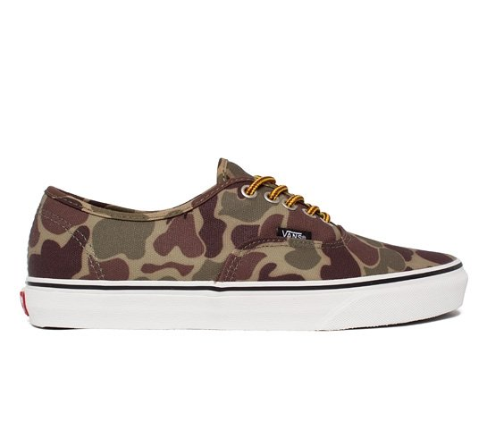 f010f1d447 Vans Authentic Waxed Canvas (Camo Marshmallow) - Consortium.