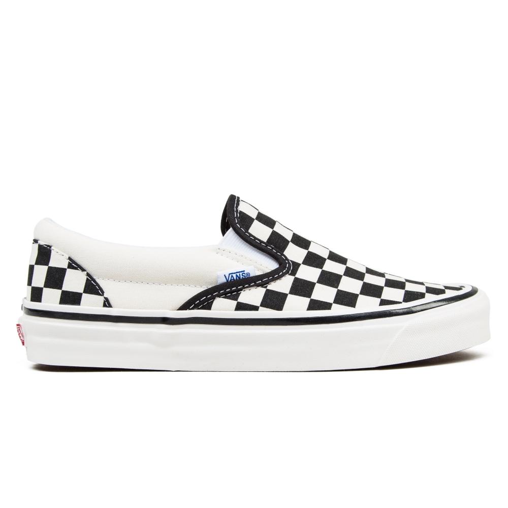 Vans Classic Slip On 98 DX 'Anaheim Factory' (Checkerboard/Black/White)