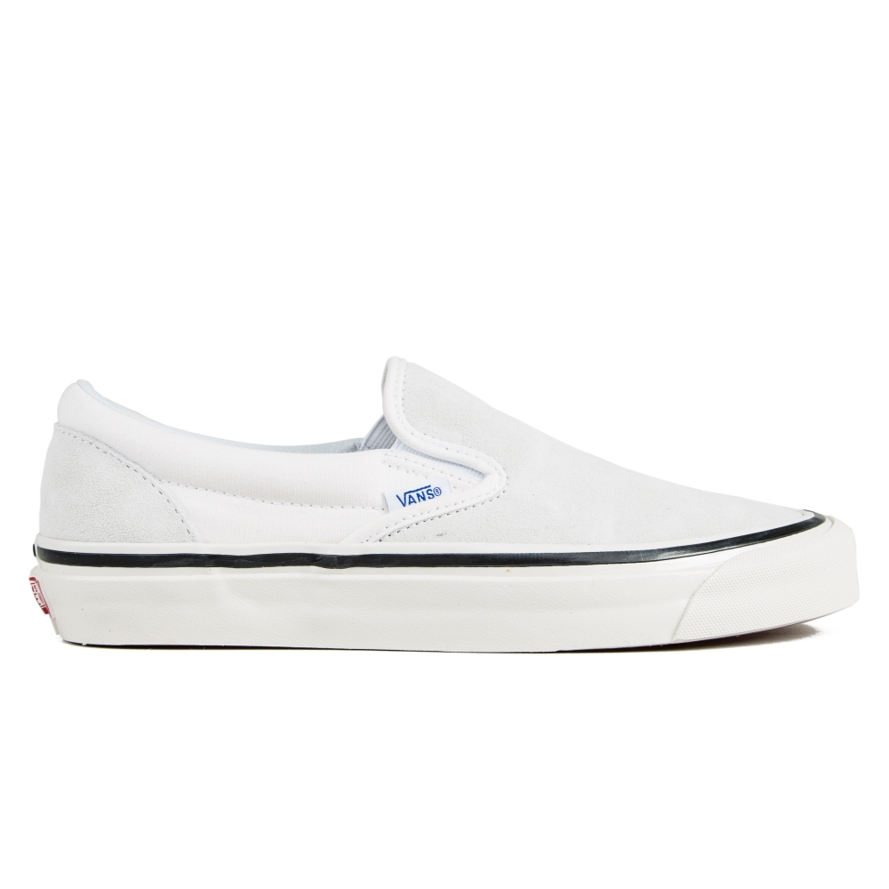 344286bacac981 Vans Classic Slip On 98 DX  Anaheim Factory  (Suede White) - Consortium.