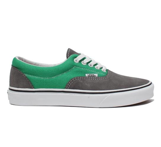 78fb9b62fc47e0 Vans Era (Smoked Pearl Fern Green) - buy Vans Era skate shoes at ...
