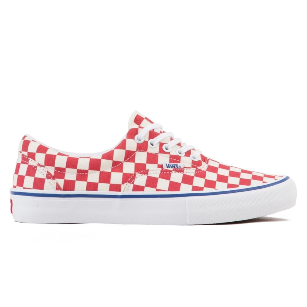 Vans Checkerboard Era Pro (Rococco Red/Classic White)