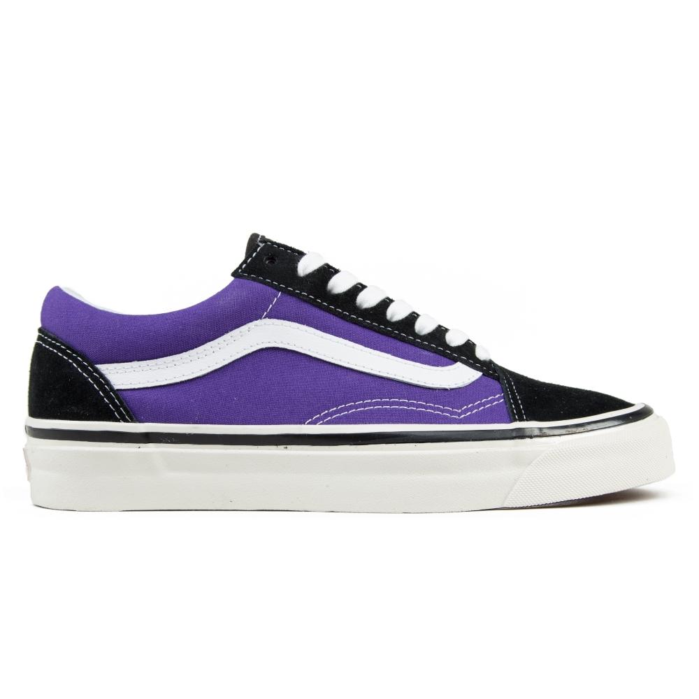 7843e90ca92db6 Vans Old Skool 36 DX  Anaheim Factory  (Black OG Bright Purple ...