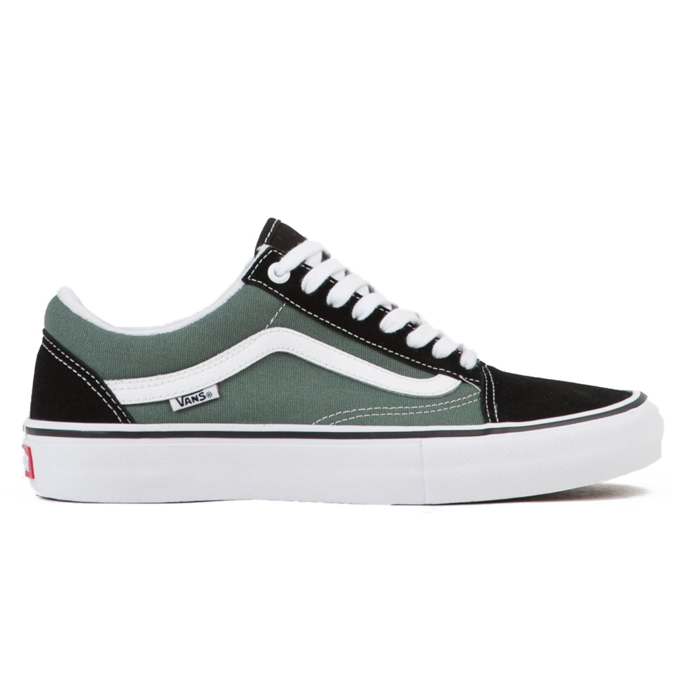Vans Old Skool Pro (Black/Duck Green)