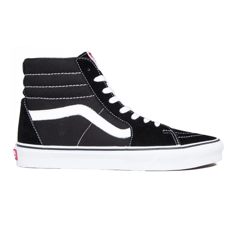 Vans SK8-Hi (Black/Black/White)