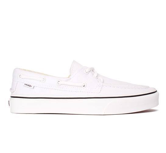82155a6ddbd153 Vans Zapato Del Barco (True White) - buy online at Consortium.