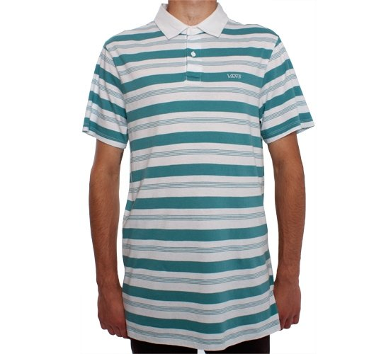 Vans Barno Polo Shirt (White)