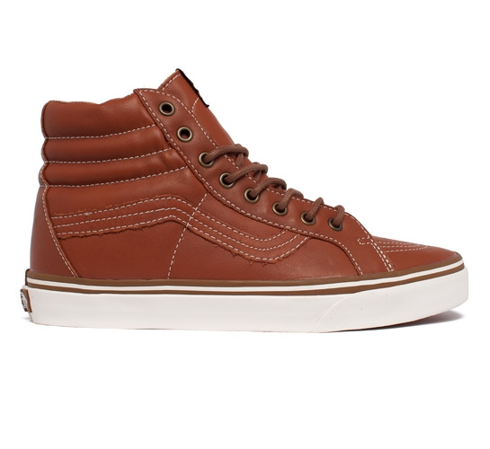 6f1f9cb2b8 Vans California SK8-Hi Reissue CA Leather (Ginger Bread Whisper White)