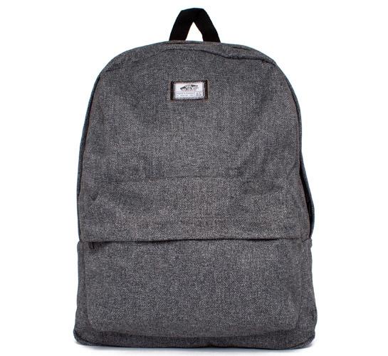 57fa2ae0688d Vans Old Skool II Backpack (Heather Grey Herringbone) - Consortium.
