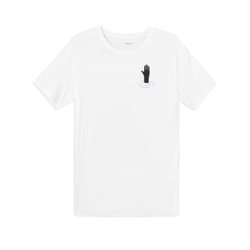 Wood Wood Hand T-Shirt (Bright White)