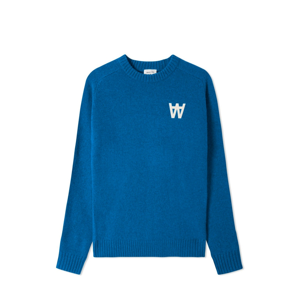 Wood Wood Kevin Sweater (Bright Blue)