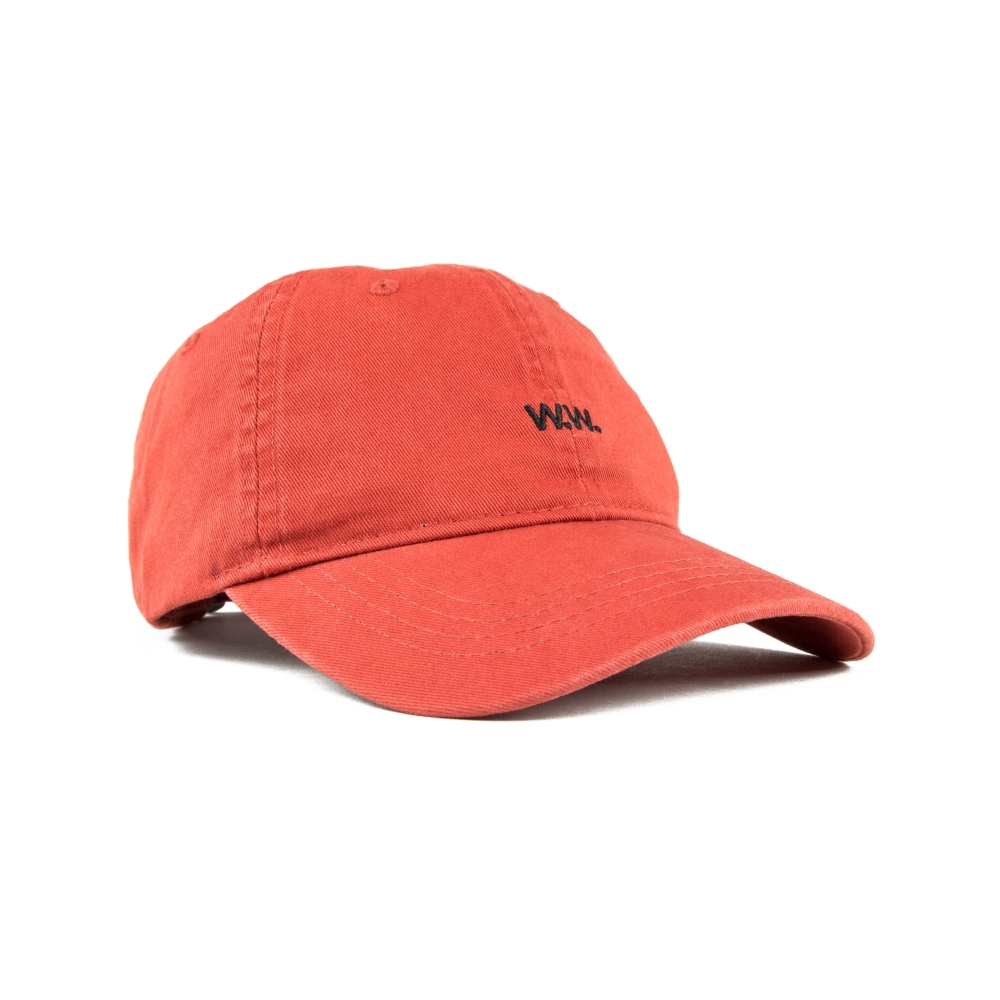 Wood Wood Low Profile Cap (Burnt Red)