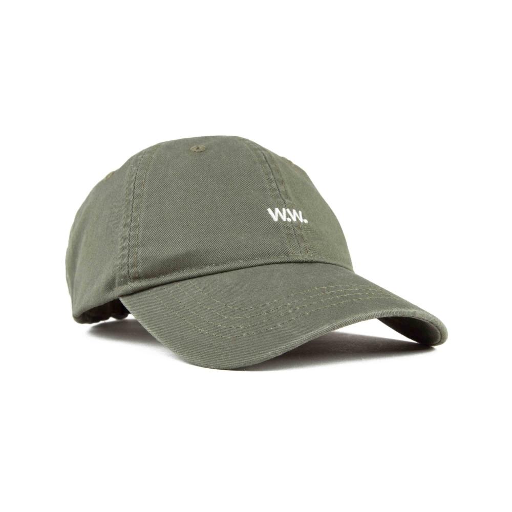 Wood Wood Low Profile Cap (Dark Green)