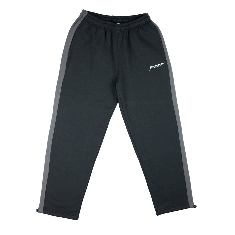 Yardsale 2Tone Tracksuit Bottoms (Black/Charcoal)