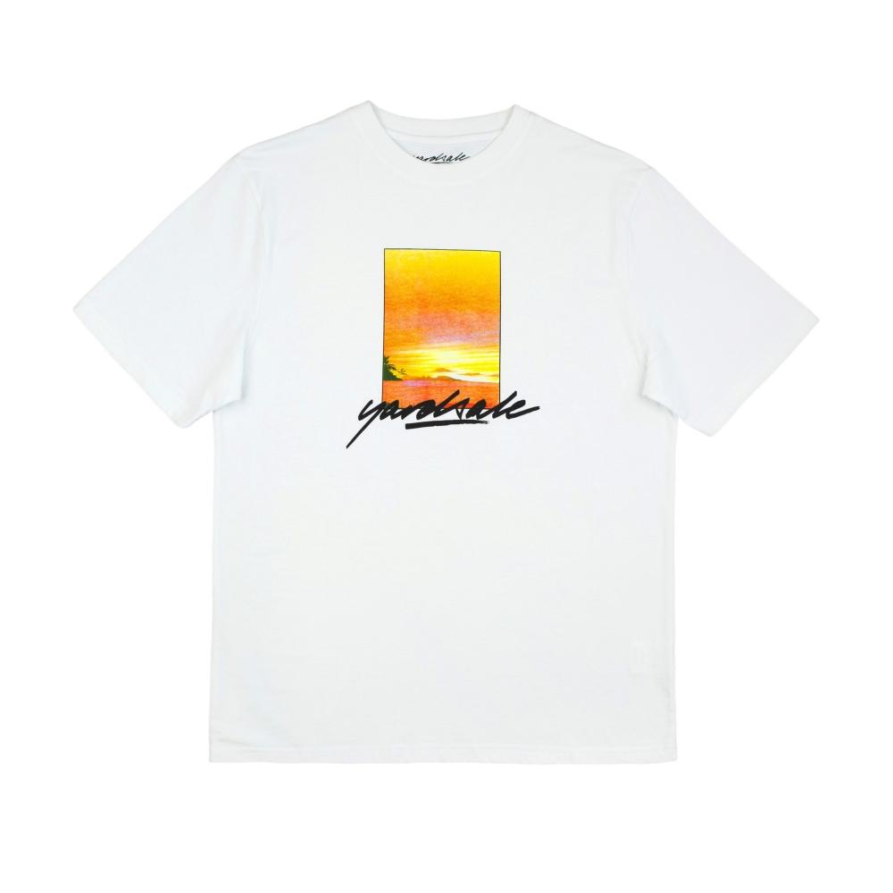 Yardsale Campari T-Shirt (White)