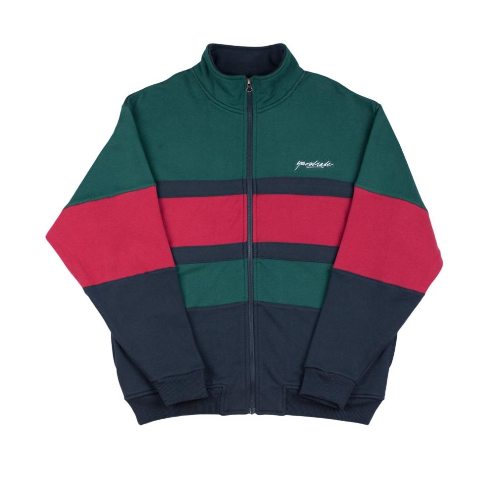 Yardsale Dior Full Zip Sweatshirt (Green/Navy/Red)