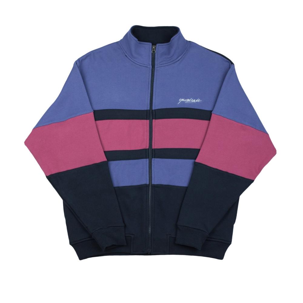 Yardsale Dior Full Zip Sweatshirt (Indigo/Navy/Red)