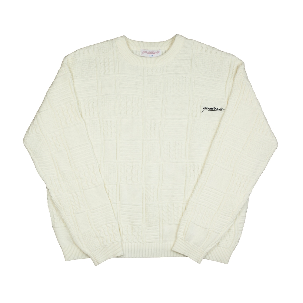 Yardsale Knitted Jumper (Cream)