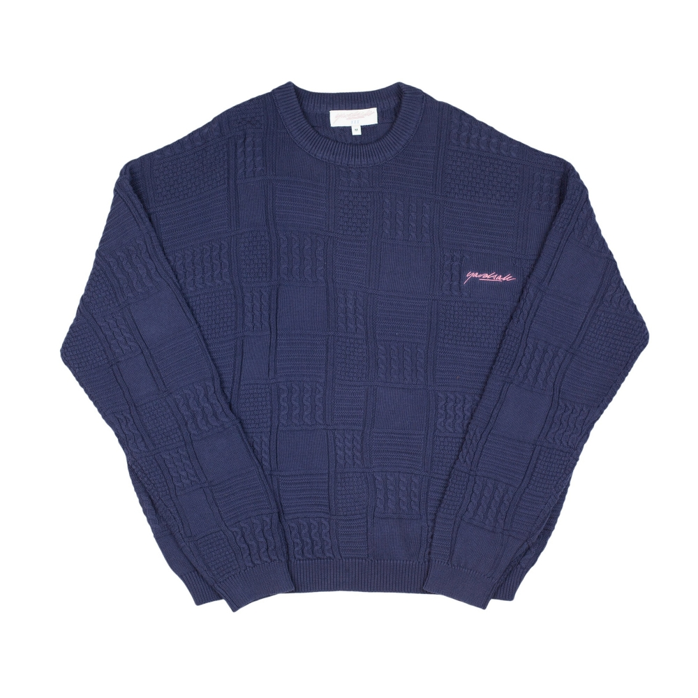 Yardsale Knitted Jumper (Navy)