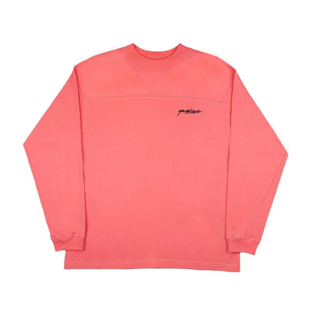 Yardsale Polo Long Sleeve T-Shirt (Pink)