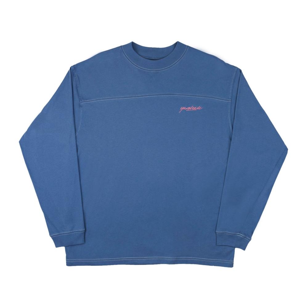 Yardsale Polo Long Sleeve T-Shirt (Royal Blue)