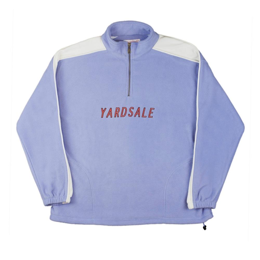 Yardsale Quarter Zip Fleece (Lilac/White)