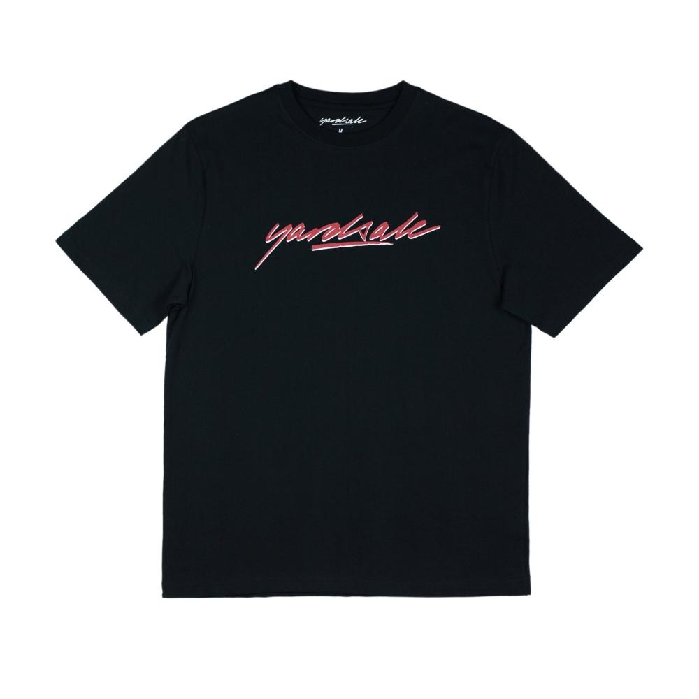 Yardsale Script Logo T-Shirt (Black)