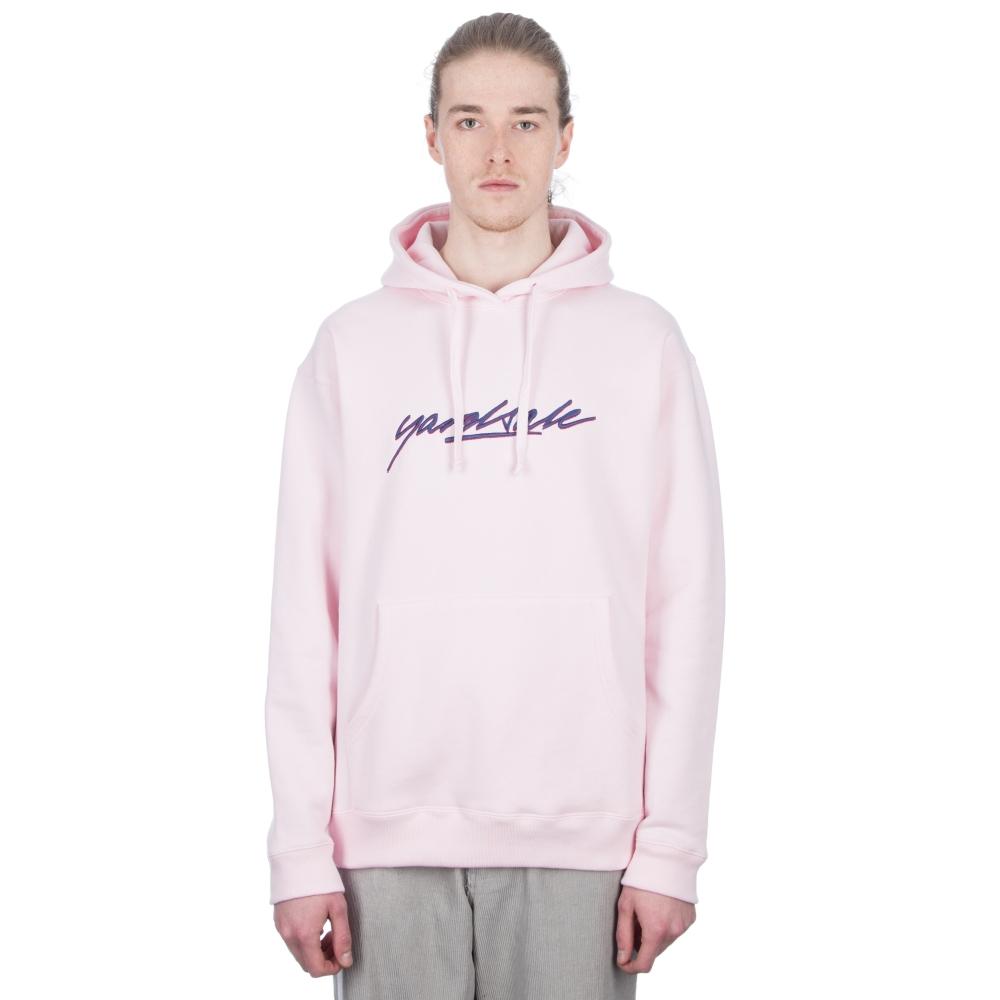 Yardsale Script Pullover Hooded Sweatshirt (Pink)