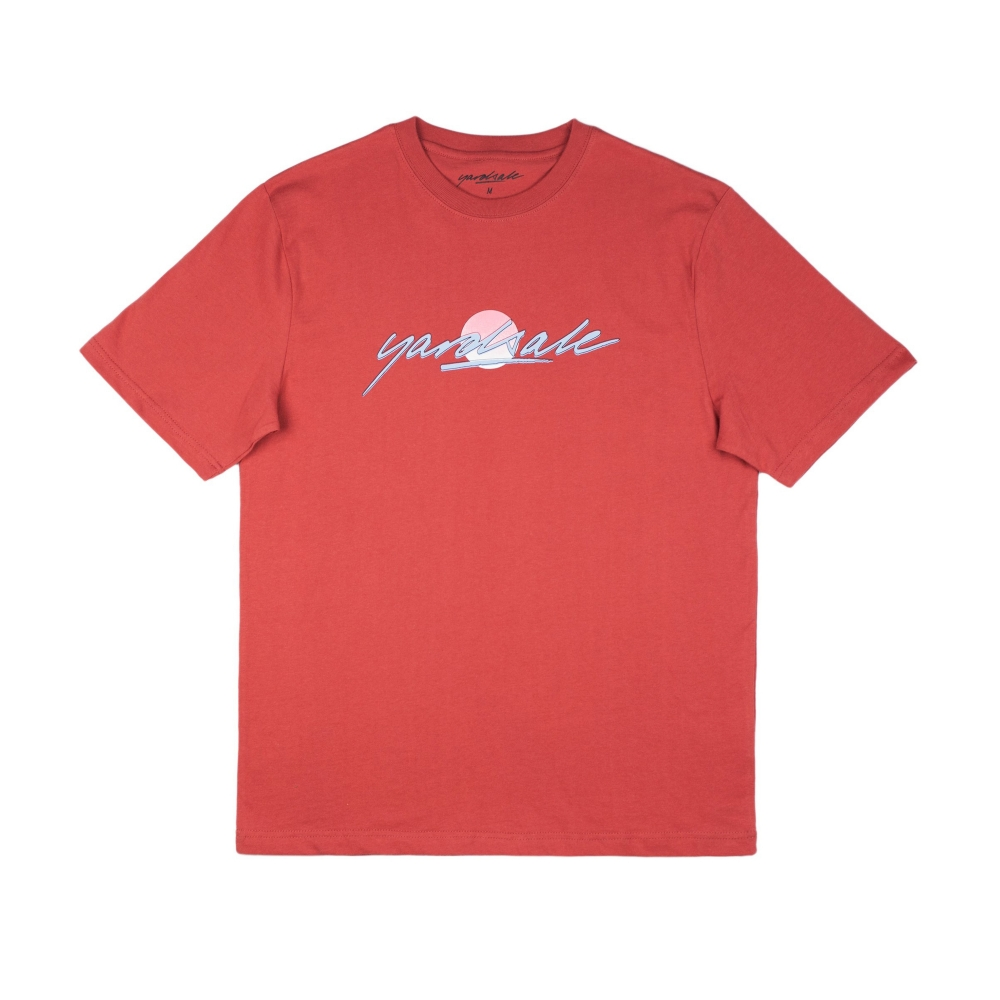 Yardsale Sunscript T-Shirt (Orange)