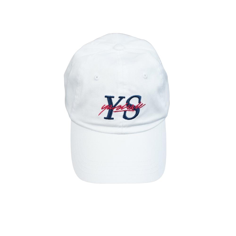 Yardsale YS Script Cap (White)