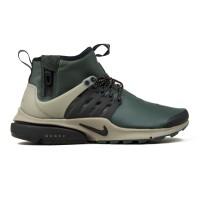 finest selection 1f689 7a114 Nike Air Presto Mid Utility (Grove Green/Black-Khaki) - Consortium.